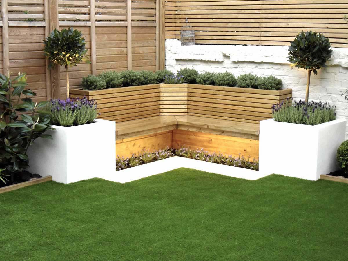 Garden rendered seating