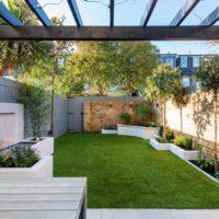 Wimbledon small garden landscaping