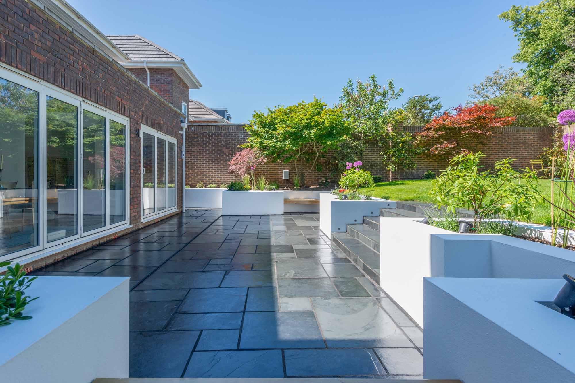 Contemporary Garden Design South West London